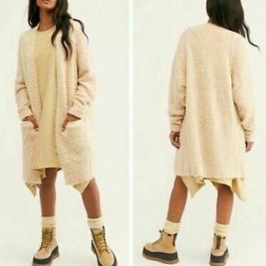 """NWT Free People """"once in a lifetime"""" Cardigan Sz M"""